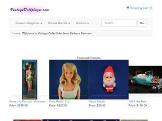 Screenshot of Vintage Doll Plaza