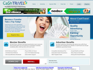 Screenshot of Cashtravel - Trustable Earning