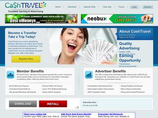 Screenshot of Cashtravel - Trustable Earning
