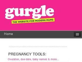 Screenshot of gurgle