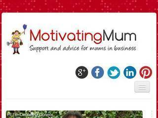 Screenshot of motivatingmum