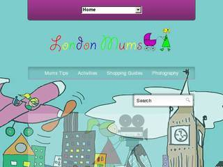 Screenshot of londonmumsmagazine