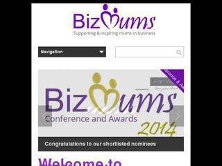 Screenshot of bizmums