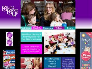 Screenshot of mumsmeetup