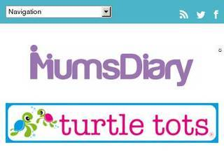 Screenshot of mums-diary