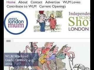 Screenshot of westlondonmum.co.uk
