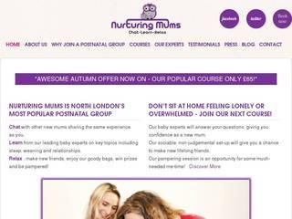 Screenshot of nurturingmumsuk.com