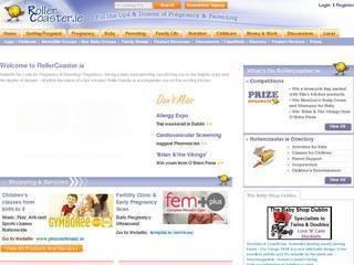 Screenshot of www.rollercoaster