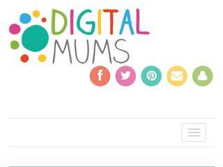 Screenshot of digitalmums