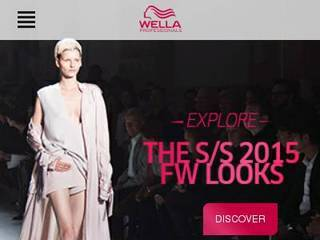 Screenshot of wella