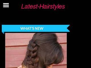 Screenshot of latest-hairstyles