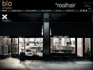 Screenshot of realhair