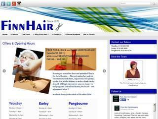 Screenshot of finnhair