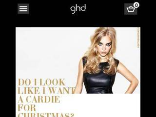 Screenshot of ghd