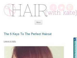 Screenshot of hairwithkate.com