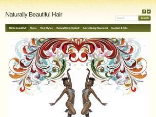 Screenshot of naturalbeautifulhair