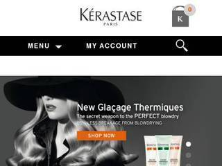 Screenshot of kerastase