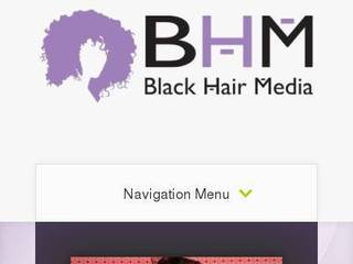 Screenshot of blackhairmedia