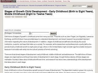 Screenshot of education.stateuniversity
