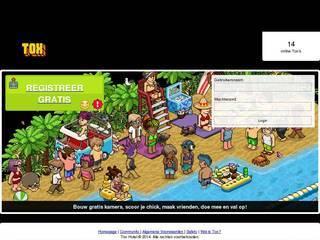 Screenshot of Tox Hotel: Habbo Retro | Nieuwste meubels! Altijd online | Radio 24/7