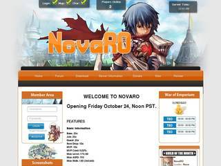 Screenshot of NovaRO