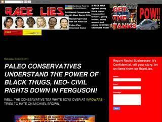 Screenshot of Race Lies