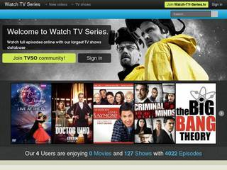 Screenshot of Watch TV Series online, TV Shows online for free