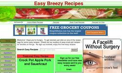 Screenshot of Easy Breezy Recipes
