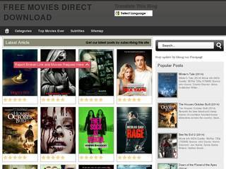 Screenshot of Free Movies Direct Download