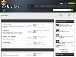 Screenshot of Nerd Forum