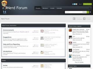 Screenshot of Nerd Forum