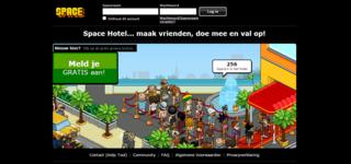 Screenshot of Spacehotel.nl | Sollicitaties | Geniet van het plezier! | Altijd online!