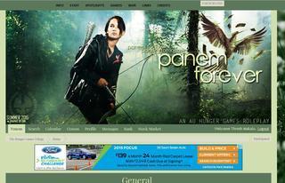 Screenshot of The Hunger Games Trilogy: Panem Forever