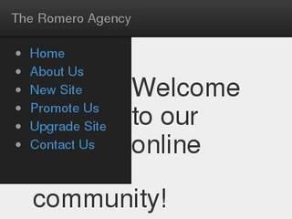 Screenshot of The Romero Agency