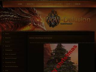 Screenshot of wow-delusion.com