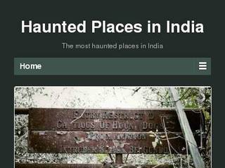 Screenshot of Haunted Places in India