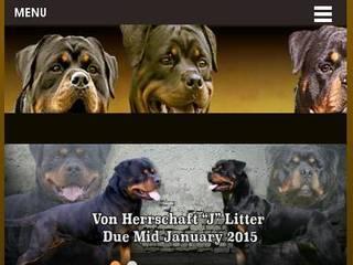 Screenshot of Von Herrschaft Rottweilers