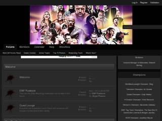 Screenshot of Elite Wrestling Federation