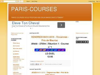 Screenshot of paris-courses