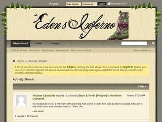 Screenshot of Eden's Inferno