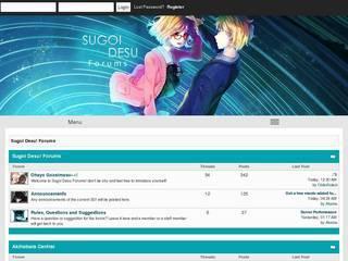 Screenshot of Sugoi Desu