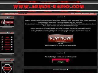Screenshot of ARMOR-RADIO.COM