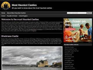 Screenshot of Most Haunted Castles