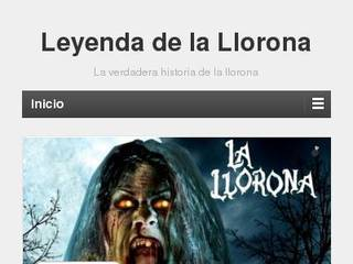 Screenshot of Leyenda de la Llorona