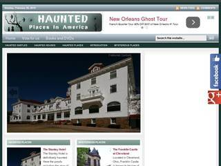 Screenshot of Haunted America