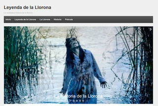 Screenshot of La Llorona