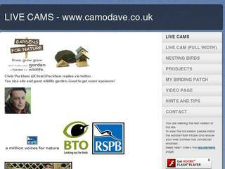 Screenshot of Camo Dave's Wildlife
