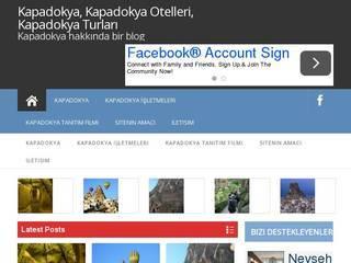 Screenshot of Kapadokya,kapadokya Nevsehir,kapadokya otelleri,kapadokya turu,otel kapadokya
