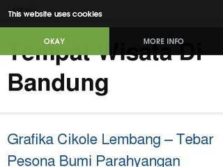 Screenshot of Tempat Wisata Alam Di Bandung
