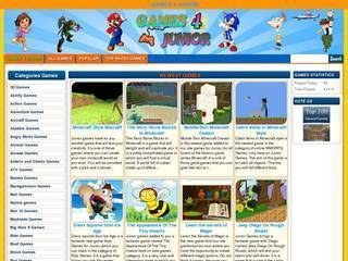 Screenshot of Arcade Games for Juniors